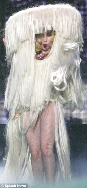 Has Lady Gaga Finally Ran out of Clothing Ideas??? 2