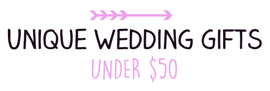 Pearl & Garter: Unique Wedding Gifts Under USD50