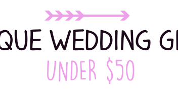 Unique Wedding Gifts Under USD50 : Pearl & Garter: Unique Wedding Gifts Under USD50