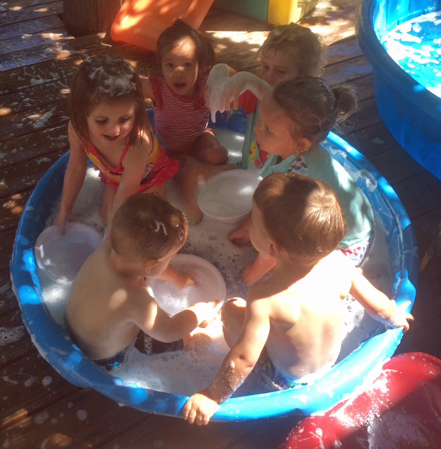 Too Many Kids in the Tub!