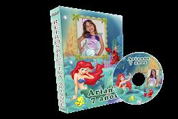Capa de DVD - Pequena Sereia