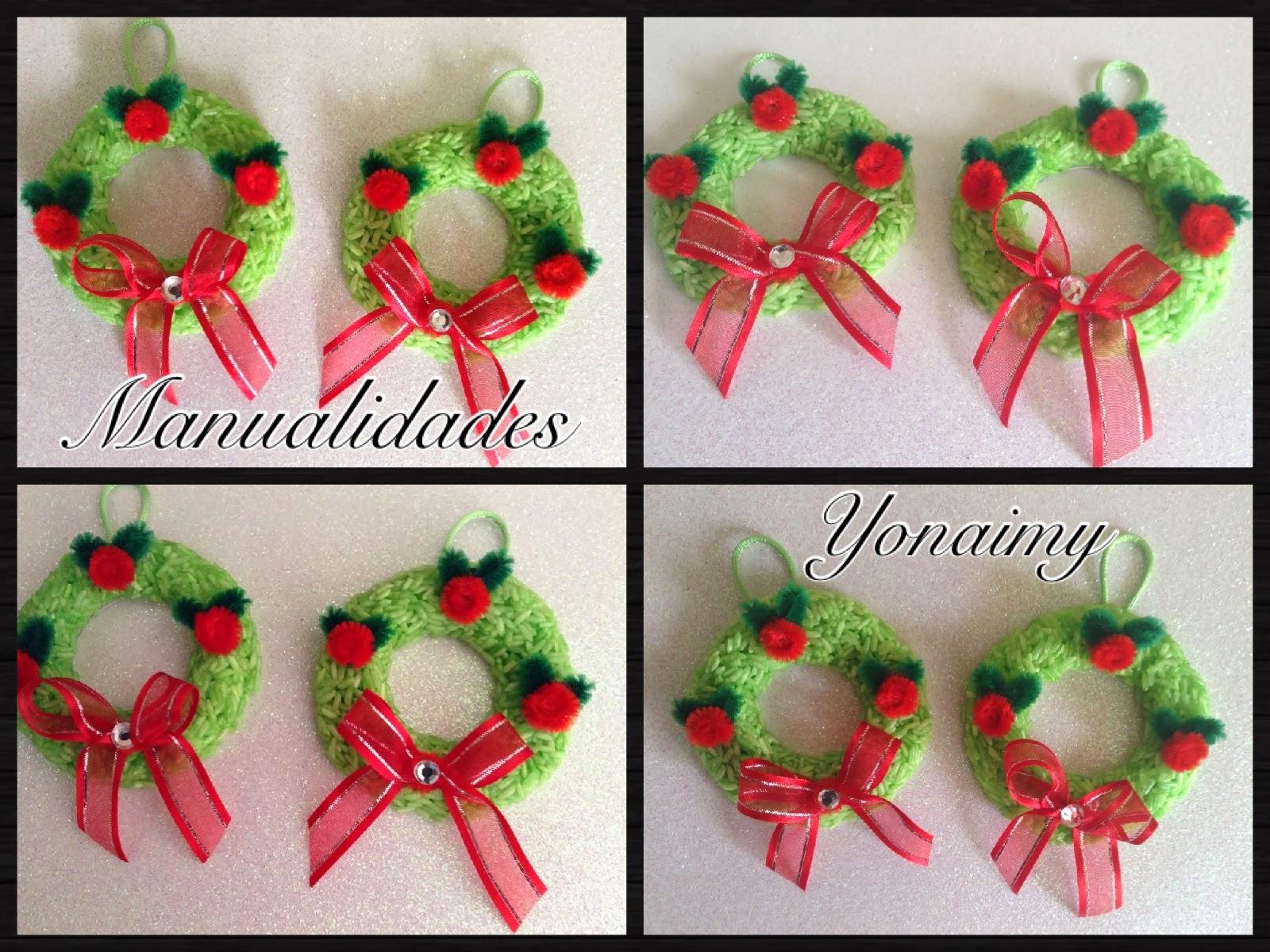 manualidades yonaimy diciembre 2013