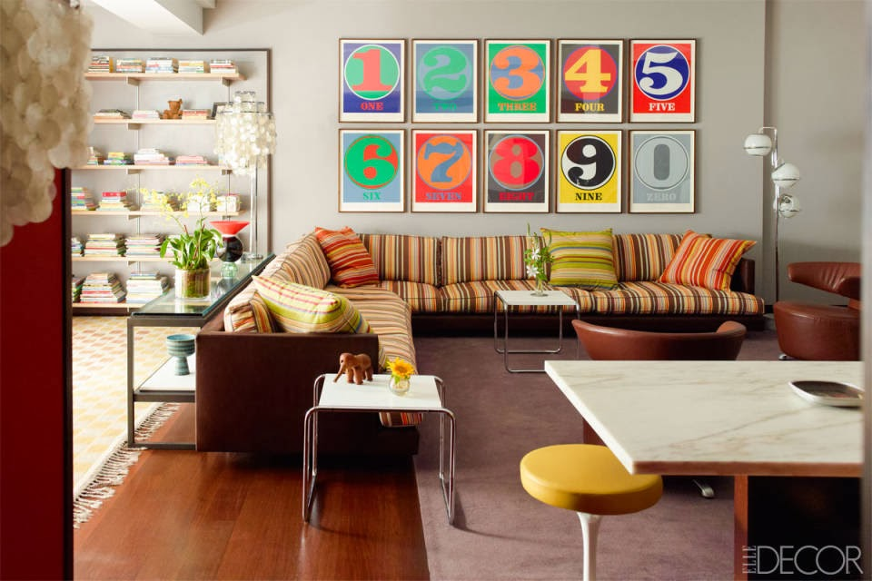 Moderne Kunst und Mid-Century Design im New Yorker Zuhause in Greenwich Village
