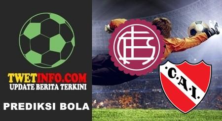 Prediksi Lanus vs Independiente, Argentina 28-09-2015