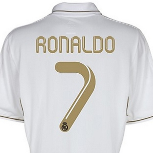 camiseta Cristiano Ronaldo Real-Madrid 2011 2012