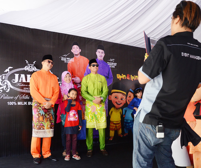 Grab your chance to snap a picture with your favourite local celebrity