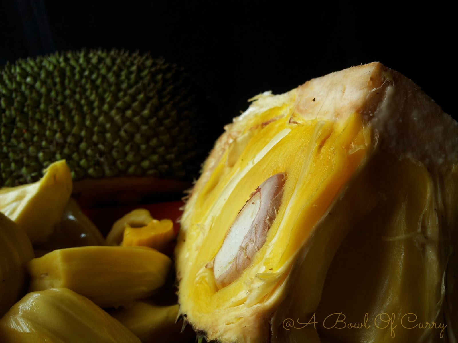 how to know jackfruit is ripe