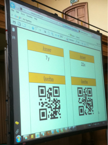 Math Techniques and Strategies: Math QR Codes