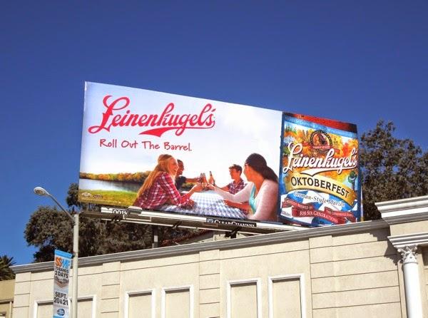 Leinenkugels Oktoberfest beer billboard