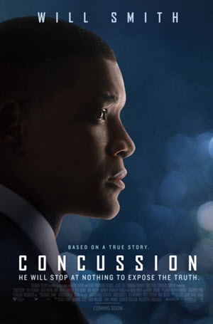 Concussion Official Theatrical Release Poster