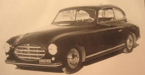 FIAT 1500D COUPE - 1948
