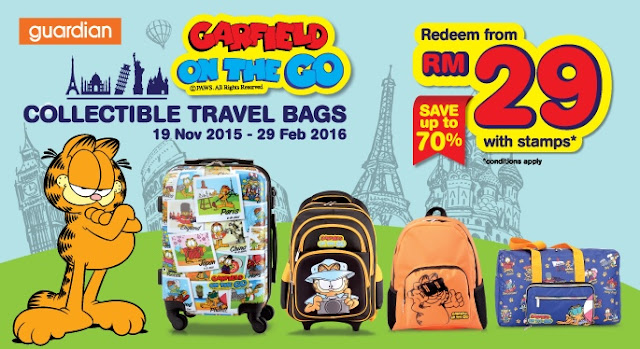 Garfield On-The-Go Bags and Luggage, Guardian, Garfield On-The-Go