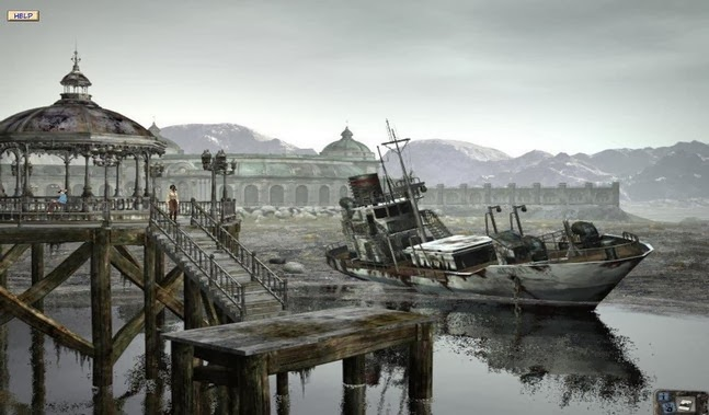 Syberia (Full) game apk - Screenshoot