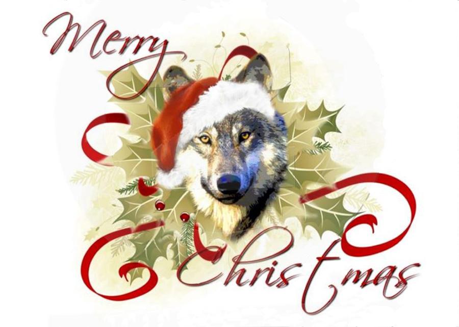 El rinc n del lobo feliz navidad - El rincon azul de angela ...