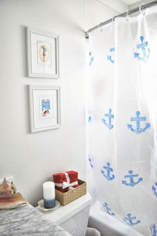 Baño Azul Decoracion:BAÑOS EN COLOR AZUL