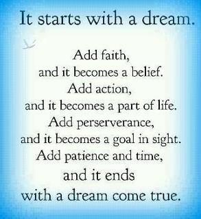 Quotes and Sayings: It starts with a dream
