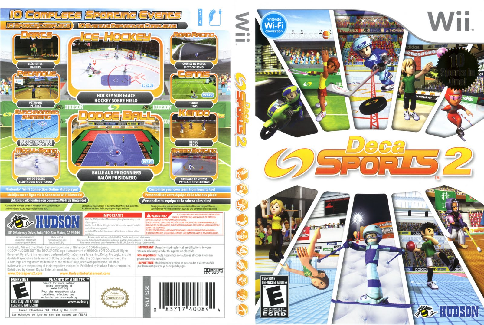 Games Covers: Cover Deca Sports 2 - Wii