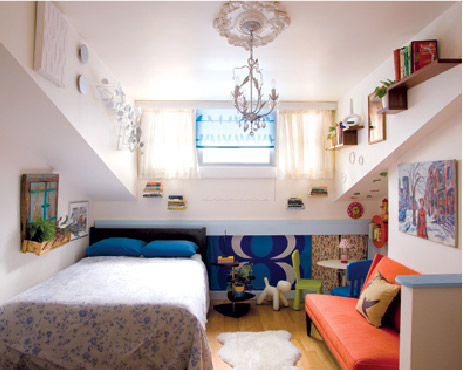 Blog arqteturas um quarto quase adolescente - Small homes big space collection ...