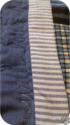 ProsperityStuff Custom Personalization on Shirt Quilt
