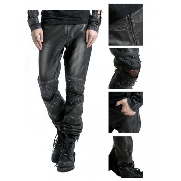black-decadent-gothic-punk-leather-pants-for-men