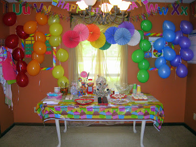 The virtuous wife marie 39 s sweet shoppe 2nd birthday for 2nd birthday decoration ideas