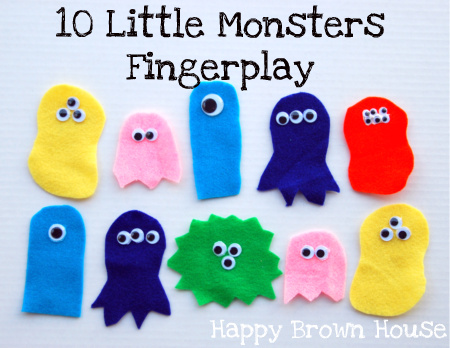 Totally Tots: Monster Songs & Fingerplays – If You're a Monster ...