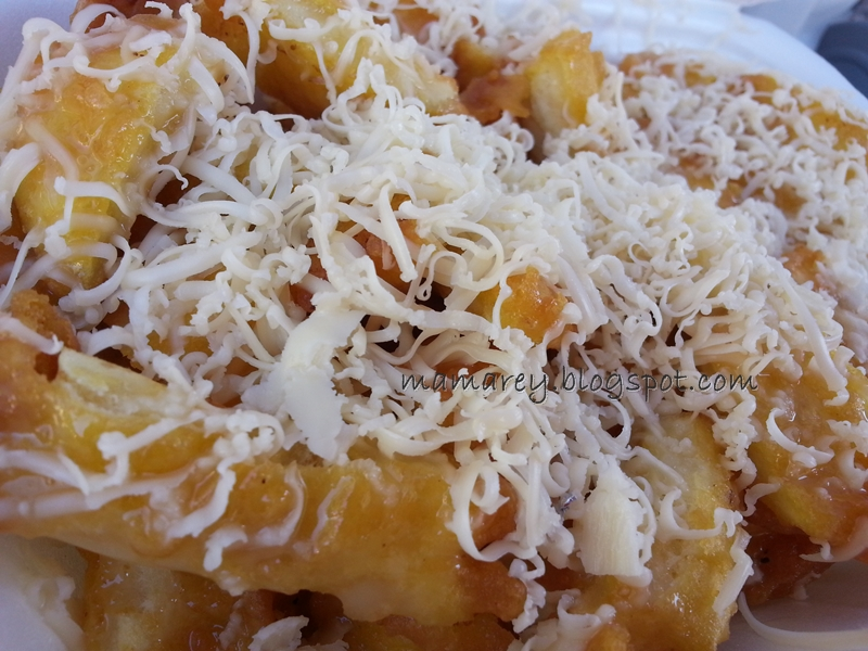 sanggar cheese sedap, pisang cheese