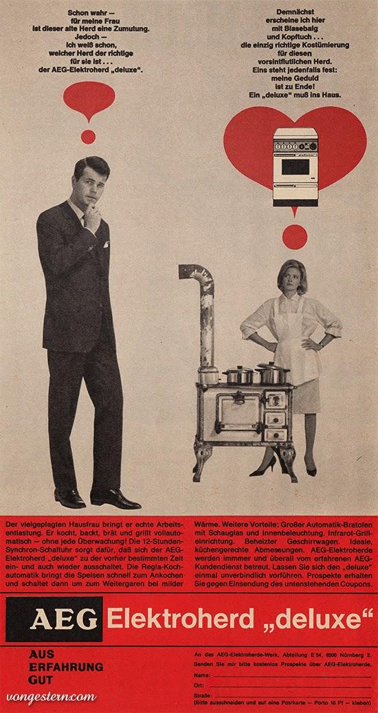 vongestern blog dieser alte herd eine zumutung 1964. Black Bedroom Furniture Sets. Home Design Ideas