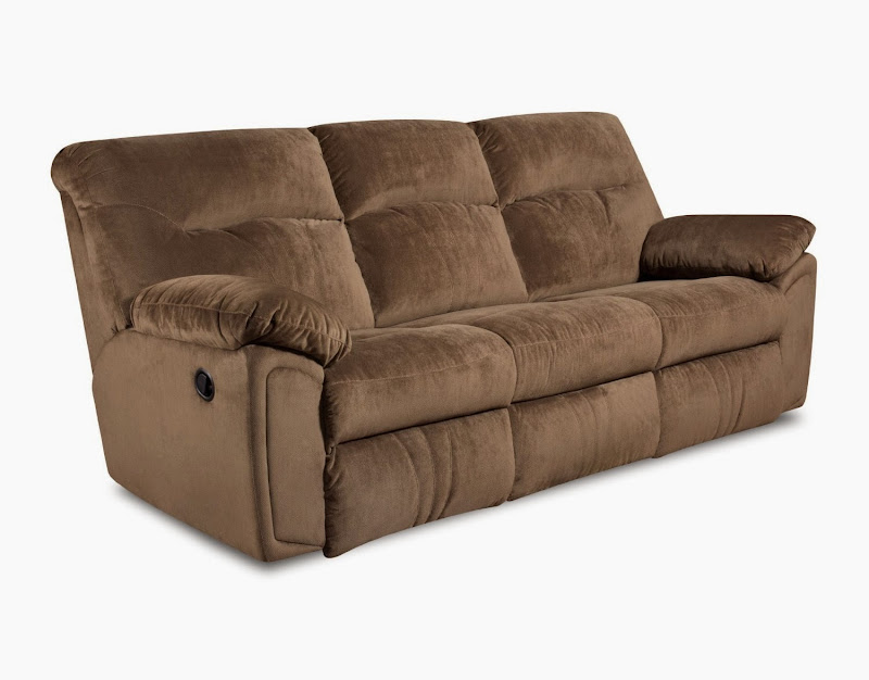 Southern Motion Reclining Leather Sofa