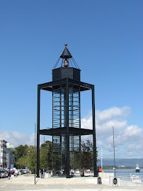 Feu du pendule de Foucault (Valdivia, Chili)