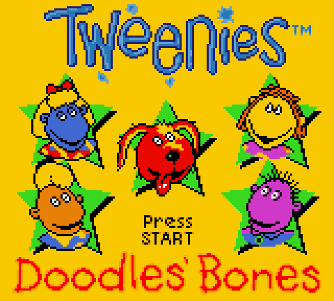 vgjunk tweenies doodles bones game boy color