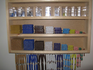 Bead Cabinet Is Finished on Making Montessori Ours Education Printables Bead
