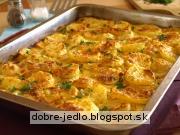 Smotanové zemiaky - recept