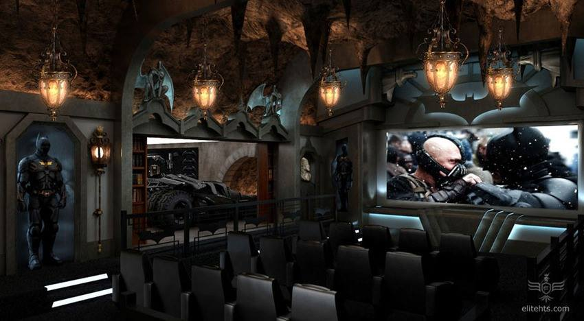 Exceptional Dark Knight Home Theater