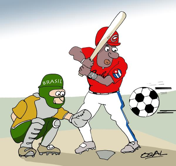 Latidos de Cuba: La caricatura: III Clásico Mundial de Béisbol