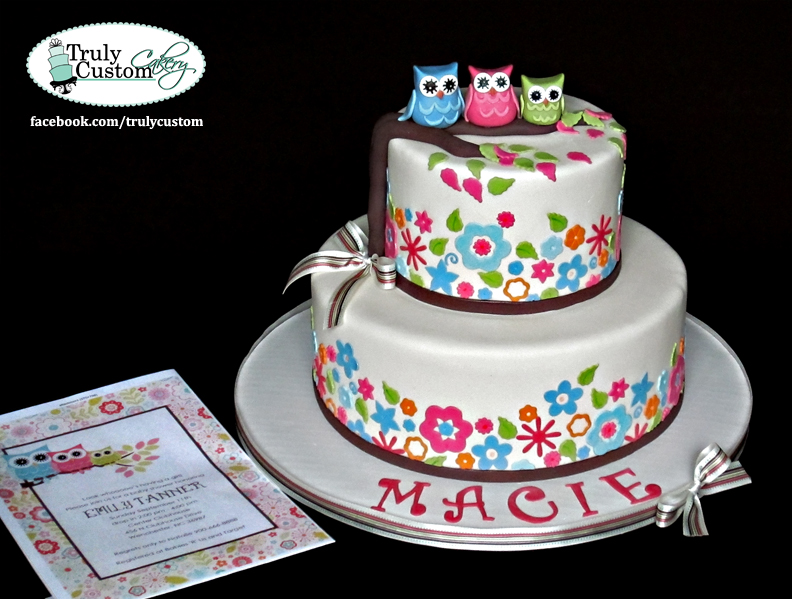 cakes instead owls baby shower cake owl baby shower cake baby shower