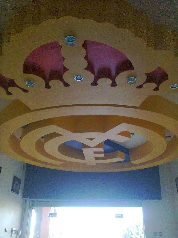 D Cor En Platre Moderne Faux Plafond Style Real Madrid 2014