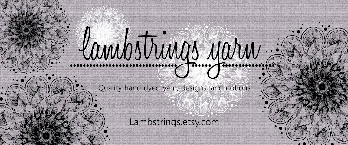 Lambstrings Hand Dyed Yarns