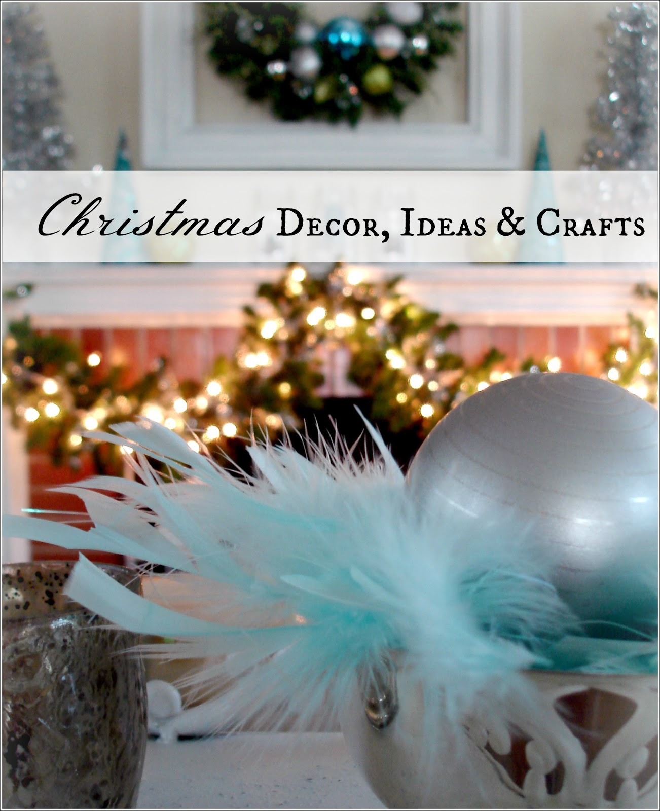 Christmas Decoration Stores: Decorating With Thrift Store Finds {Christmas Edition
