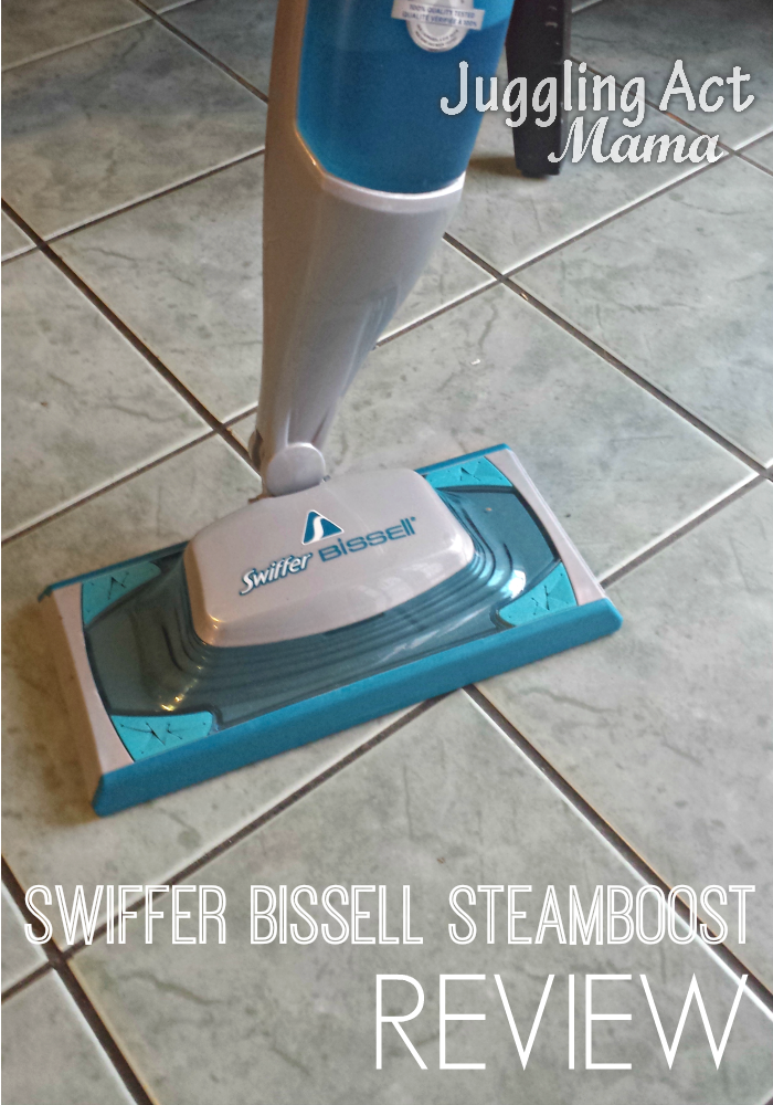 Bissell SteamBoost Review & 25 Paypal Cash Giveaway via Juggling Act
