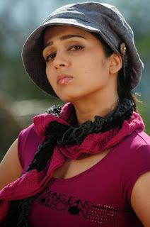 Charmi in saree from movie Thalaippu Seithigal