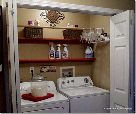 A walk in the countryside our home updated for Laundry room connected to master closet