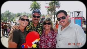 Pomona Fair...DeAnn, Mark, Carol Ann, Bob