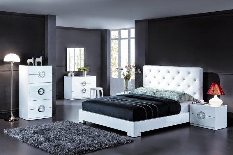 couleurs claires et sombre pour les chambre. Black Bedroom Furniture Sets. Home Design Ideas