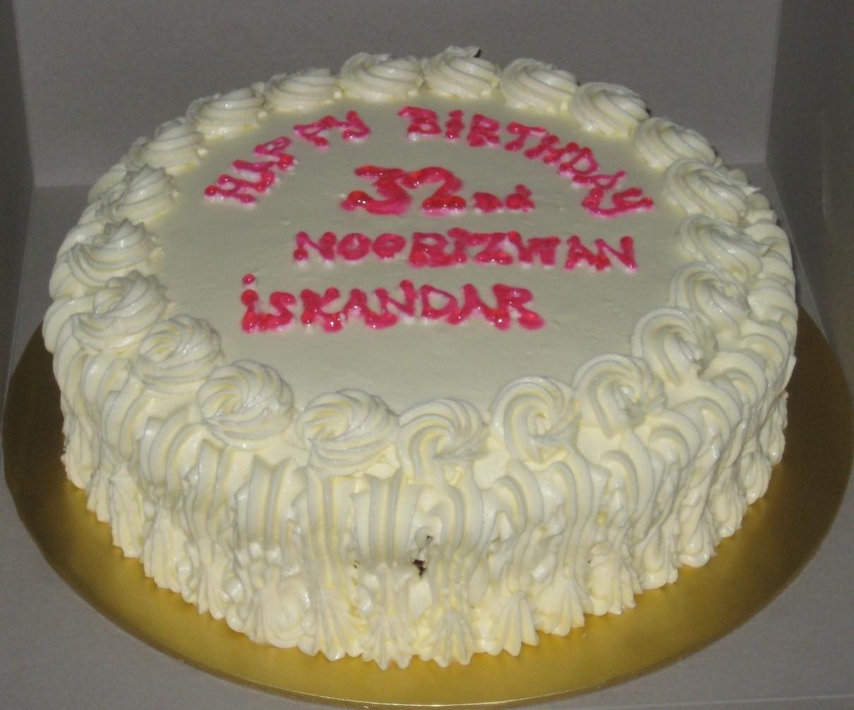 Bake A Licious Home Bakery Happy 32nd Birthday