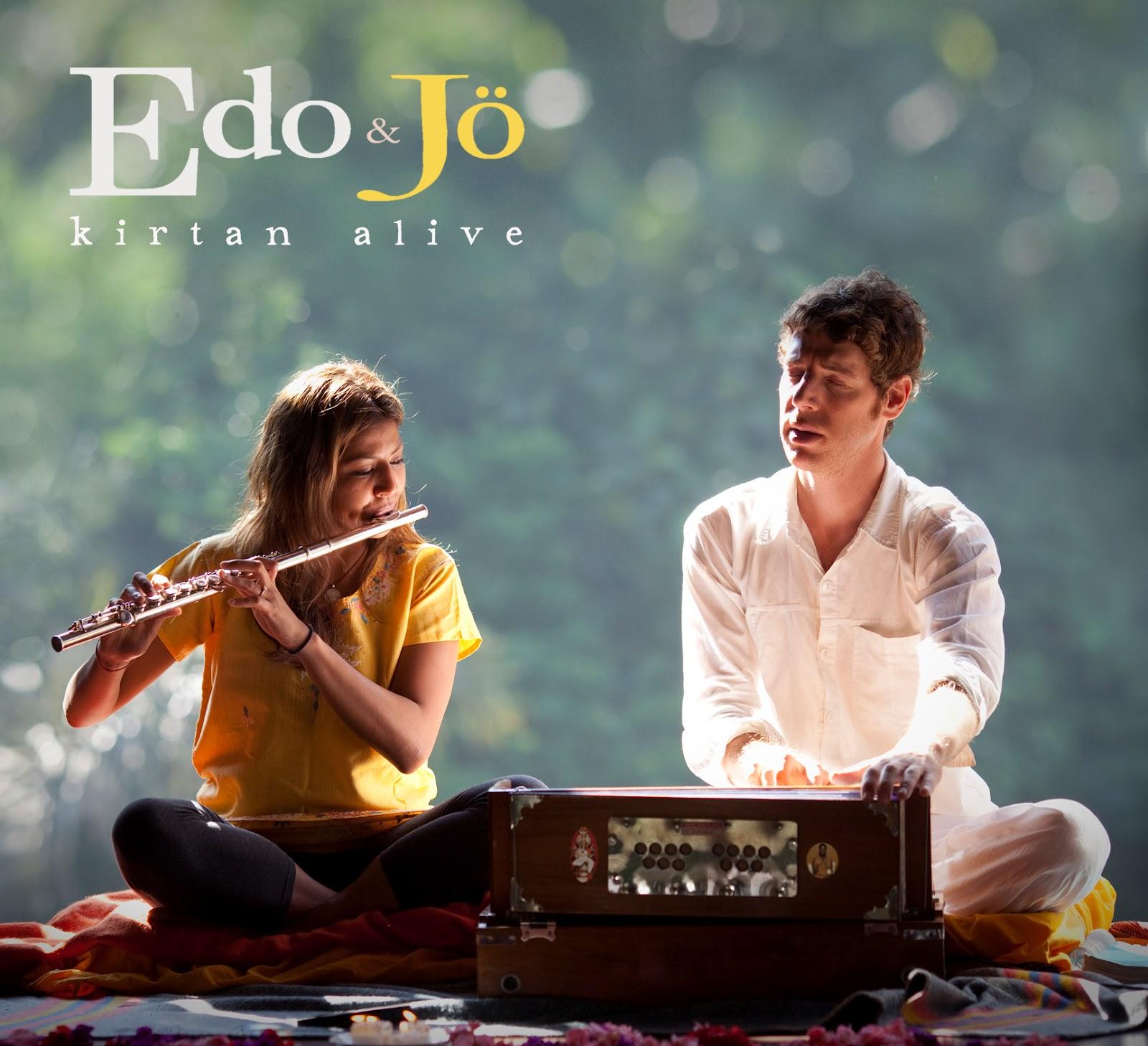 Inside World Music: CD Review: Edo & Jo's 'Kirtan Alive