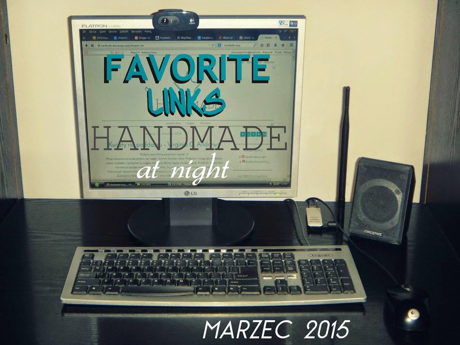 favorite links, ulubione linki, linki godne polecenia, linki, linki marzec2015