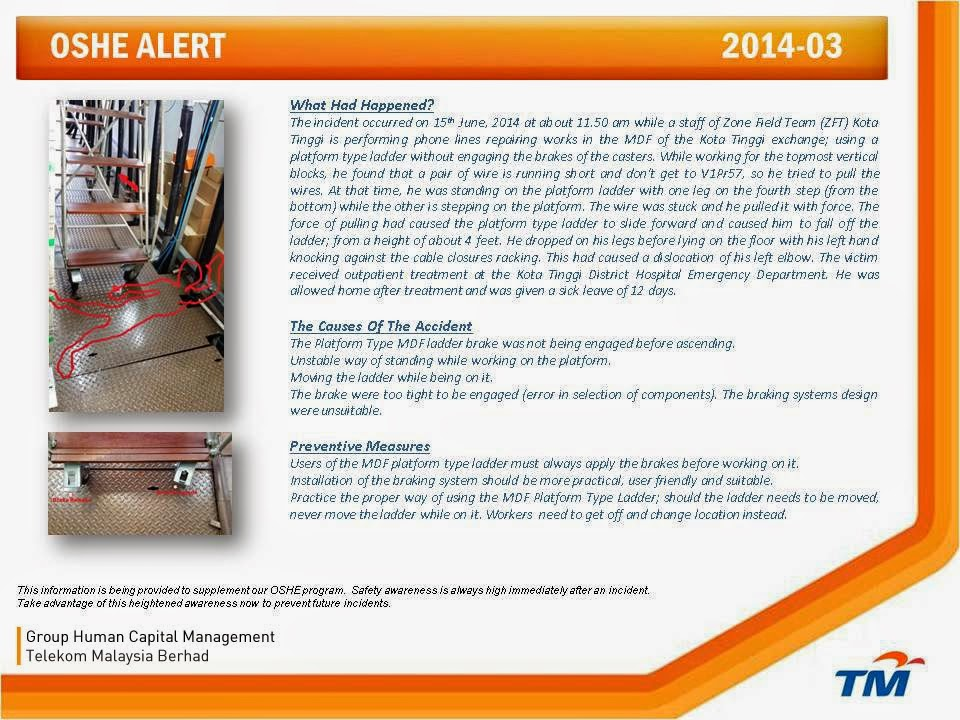 OSH Alert Kota Tinggi 2014-3