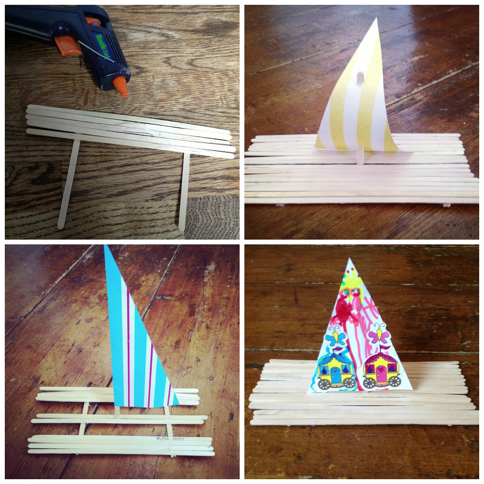 How to make a boat that floats out of popsicle sticks