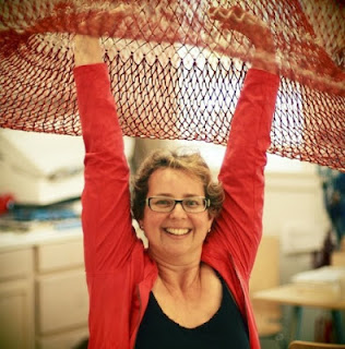 Janet Echelman - Esculturas com Redes de Pesca e Luz